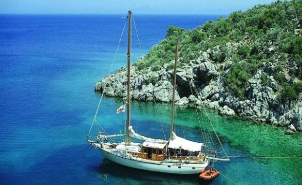 sailing in Bodrum