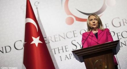 Hillary Clinton speaking of Turkey
