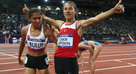 Turkey one-two finish in the women's 1500m